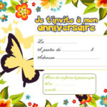 carte anniversaire word