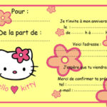 carte anniversaire gratuite hello kitty