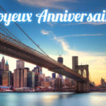 carte anniversaire animee new york