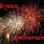 carte anniversaire animee feu artifice
