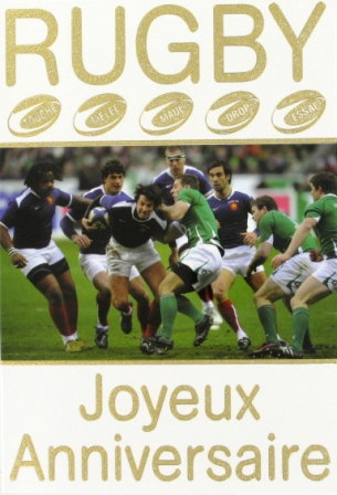 carte anniversaire humoristique rugby