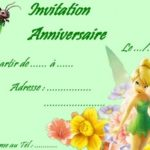 carte anniversaire animee fee clochette
